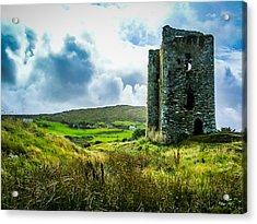 Medieval Dunmanus Castle On Ireland's Mizen Peninsula Acrylic Print