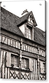 Medieval House Acrylic Print by Olivier Le Queinec