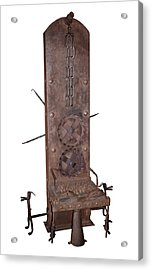 Medieval Rotating Torture Chair Acrylic Print by David Parker