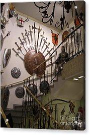 Medieval Spanish Weaponry Acrylic Print by Deborah Smolinske