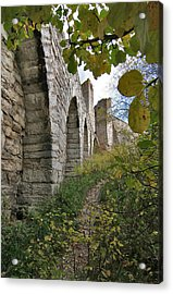 Medieval Town Wall Acrylic Print