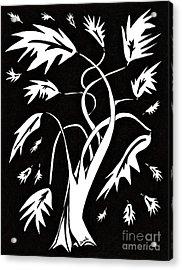 Medieval Tree Acrylic Print