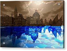 Medieval Venice Acrylic Print by Amanda Holmes Tzafrir