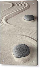 Meditation Background  Acrylic Print by Dirk Ercken