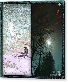 Meditation Duetto Acrylic Print