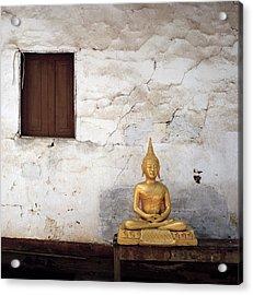 Meditation In Laos Acrylic Print