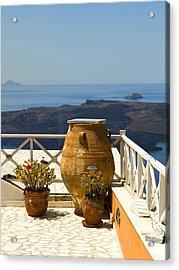 Mediterranean Meditation Acrylic Print