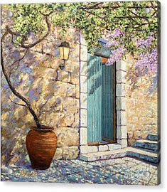 Mediterranean Scent Acrylic Print by Miki Karni