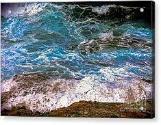 Mediterranean Sea Acrylic Print
