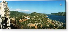 Mediterranean Sea Viewed Acrylic Print by Panoramic Images