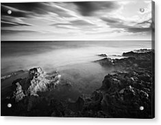 Acrylic Print featuring the photograph Mediterranean Sunset / Tunisia by Barry O Carroll