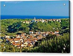 Mediterranean Town Of Susak Croatia Acrylic Print