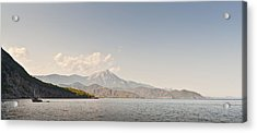 Acrylic Print featuring the photograph Mediterranean View by David Isaacson