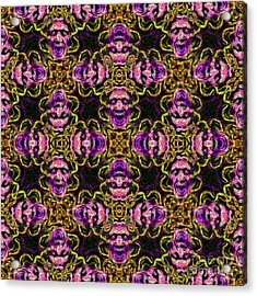 Medusa Abstract 20130131m138 Acrylic Print by Wingsdomain Art and Photography