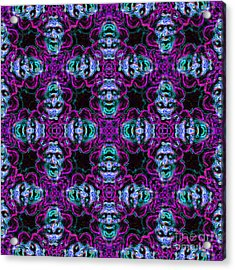 Medusa Abstract 20130131m180 Acrylic Print by Wingsdomain Art and Photography