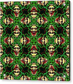 Medusa Abstract 20130131p0 Acrylic Print by Wingsdomain Art and Photography