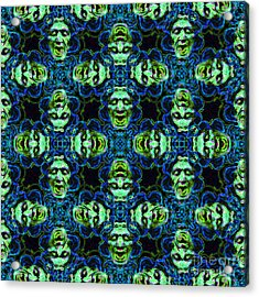 Medusa Abstract 20130131p90 Acrylic Print by Wingsdomain Art and Photography