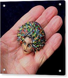 Medusa Cameo I Acrylic Print