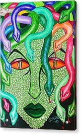 Medusa Acrylic Print by Jeremy Moore