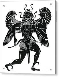 Medusa, Legendary Creature Acrylic Print