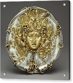 Medusa Vincenzo Gemito, Italian, 1852 - 1929 Naples Acrylic Print by Litz Collection