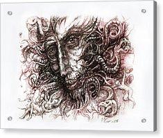 Medusa Acrylic Print by Vladimir Petrov