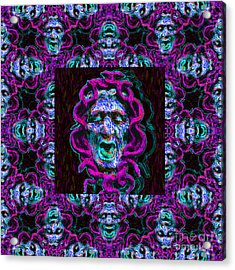 Medusa's Window 20130131m180 Acrylic Print by Wingsdomain Art and Photography