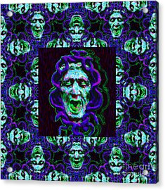 Medusa's Window 20130131p138 Acrylic Print by Wingsdomain Art and Photography