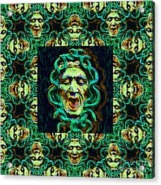 Medusa's Window 20130131p38 Acrylic Print by Wingsdomain Art and Photography