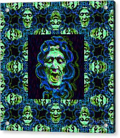 Medusa's Window 20130131p90 Acrylic Print by Wingsdomain Art and Photography