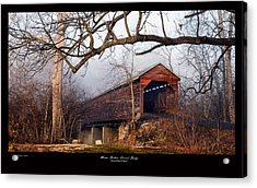 Meems Bottom Bridge 7 Acrylic Print by David Lester
