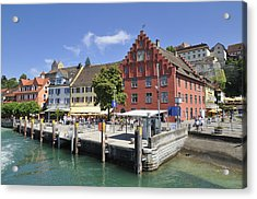 Meersburg Lake Constance Germany Acrylic Print by Matthias Hauser