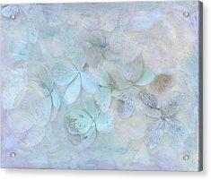 Meet Me In Petals Acrylic Print