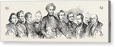 Meeting Of The British Association At Southampton Acrylic Print