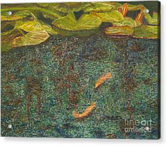 Meeting Place Acrylic Print by Milly Tseng