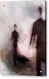 Meeting You Acrylic Print by Gun Legler