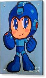 Mega Man Acrylic Print
