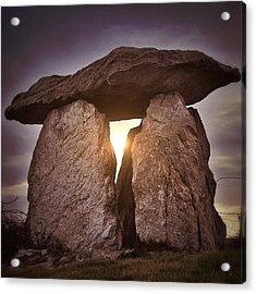 Megalith Anglesey Acrylic Print