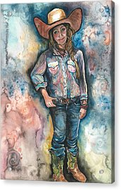 Little Britches Acrylic Print