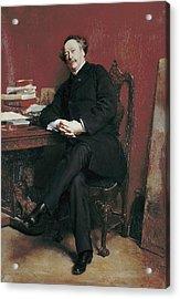 Meissonier, Ernest 1815-1891. Portrait Acrylic Print by Everett