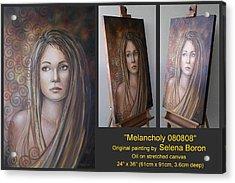 Melancholy 080808 Comp Acrylic Print