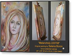 Melancholy 220708 Acrylic Print