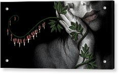 Acrylic Print featuring the painting Melancholy by Pat Erickson