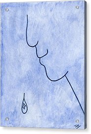 Melancholy Acrylic Print by Terry Hall