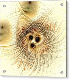 Meld Acrylic Print by Anastasiya Malakhova