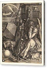 Melencolia I Acrylic Print
