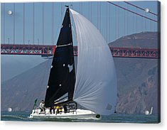 Melges 24 At The Gate Acrylic Print by Steven Lapkin