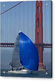 Melges At The Gate Acrylic Print by Steven Lapkin