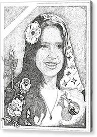 Melinda Acrylic Print