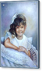 Acrylic Print featuring the painting Melissa by Patricia Schneider Mitchell